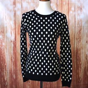41 Hawthorn Polka Dotted Crew Neck